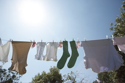 The average family does about 400 loads of laundry per year (see References 4).