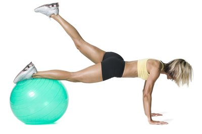 Exercise balls have several uses beyond just crunches.