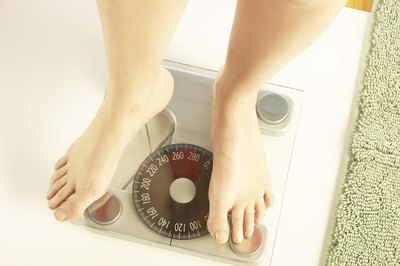 Reduce ankle fat through diet and exercise.