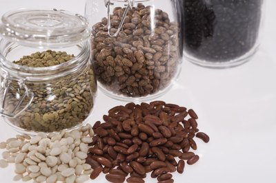 Trade some of the meat in your diet for beans to lower your cholesterol.