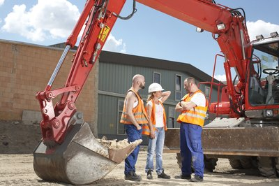 Machine operator duties vary according to job and work site.