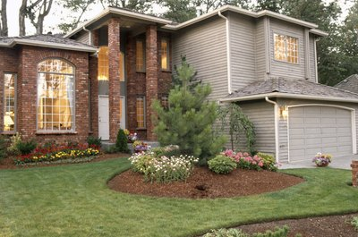 HOAs collect fees for landscaping and other exterior maintenance.