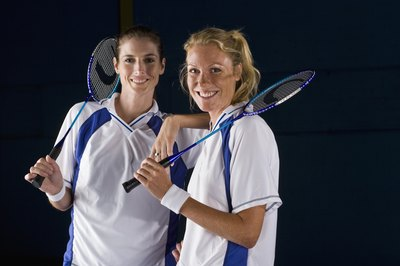 "A winning doubles team picks clever strategies, such as starting on the ""bad"" side of the court."