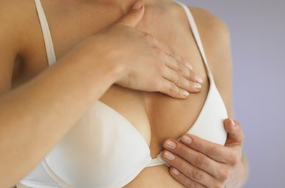 Large breasts may cause skin rashes and irritation under the breast.