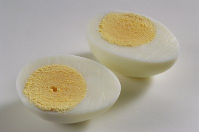 Eggs are high in dietary cholesterol.