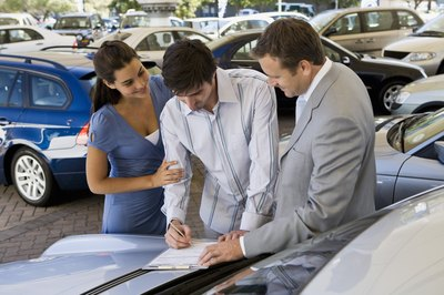 Make sure your new car is insured before signing on the dotted line.