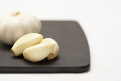 Garlic helps flavor your food and may provide health benefits.