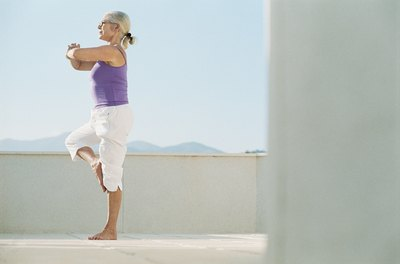 Yoga can be beneficial for arthritis sufferers.