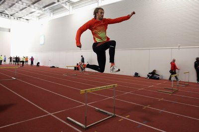 Hurdle jumps are a plyometric exercise.