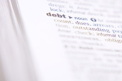 A judgment appears on your credit report when your creditor wins in court for a debt you owe them.