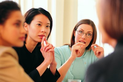 Face-to-face meetings are an effective method of sharing.