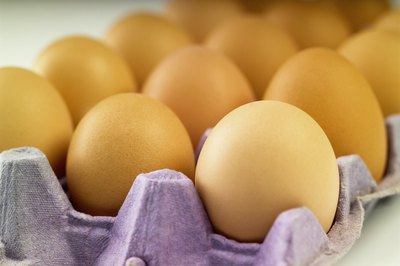 Store raw eggs in the refrigerator to reduce the risk of food poisoning.