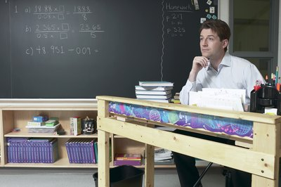 Mathematicians sometimes end up in the classroom as teachers.