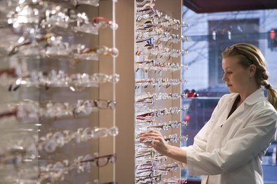Opticians help clients find eye wear that helps them see well and look good.