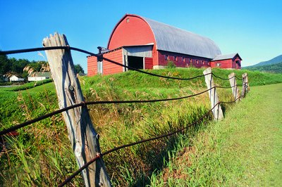 Steel prefab farm buildings may be no more expensive than pole barns.