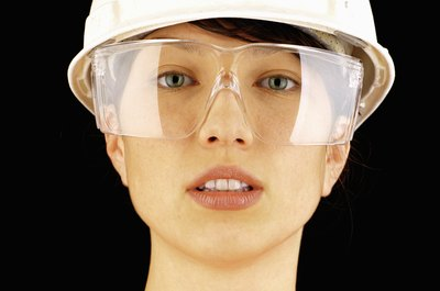 Safety equipment won't win any fashion awards, but it will protect you at work.