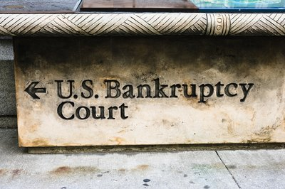 The bankruptcy process can take months or even years to complete.