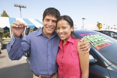 You can purchase a car with cash or verify your income for a credit purchase.