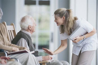 Successful direct care workers are personable and compassionate.