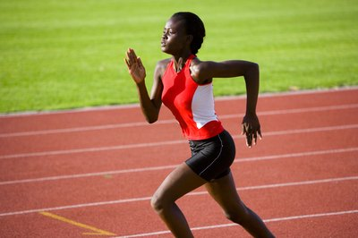 Sprinting is one form of cardio exercise to increase thigh size and power.