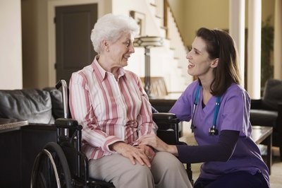 LVNs are widely used in elder care.