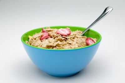 A bowl of fortified cereal can help you meet your iron needs for the day.