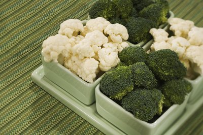 Broccoli and other vegetables in the genus Brassica contain goitrogens.