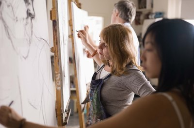Artistic people like to work with ideas and things, according to Purdue University.
