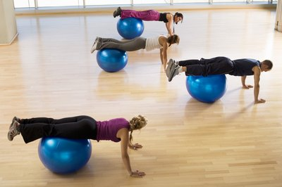Add a stability ball to really work your abs during the jackknife.
