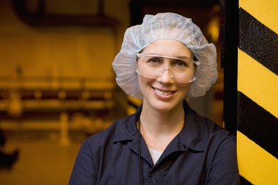 Tailor your dress toward the food manufacturing position you hope to obtain.