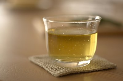 Green tea is rich in catechins that have potent antioxidant properties.