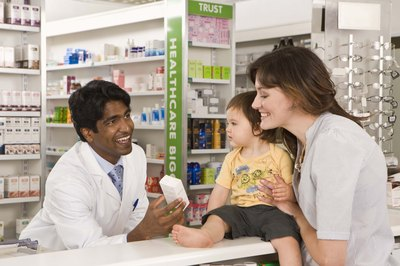 Pharmacists often advise patients on prescriptions.