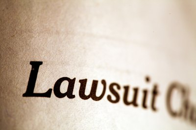 A successful lawsuit against you could result in the loss of some assets.