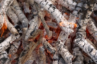 Wood ash is a valuable addition to compost.