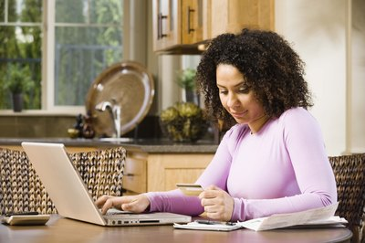 Use budget software to help you plan your monthly household budget.