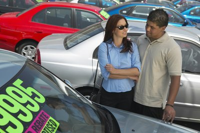 Know your credit score before you start car shopping.