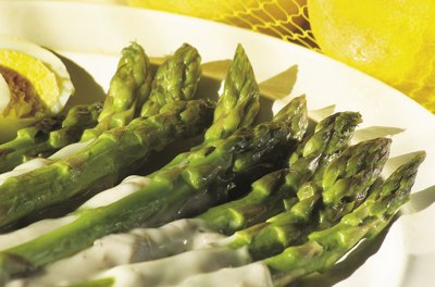 Asparagus is moderately rich in purines.