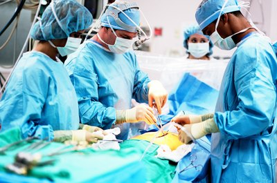 Neurosurgeons spend a lot of time in the operating suite.