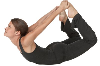 Bow pose can help relieve middle back pain.