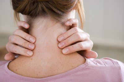 Neck exercises help relax stiff muscles.