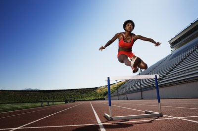 Repeat vertical jumps can give you explosive hurdles.