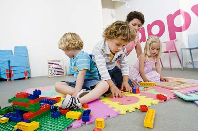 Daycare owners' earnings are proportional to the number of children they watch.