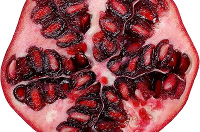 Pomegranates provide vitamin C, vitamin K, folate and potassium.