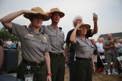 Park rangers protect the nation's parks.