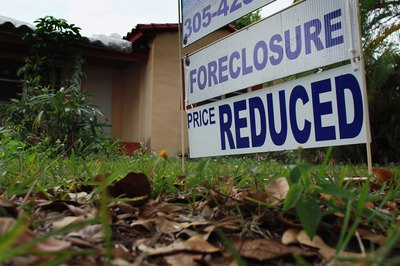Hire a sales agent or visit bank and government websites to see foreclosures.