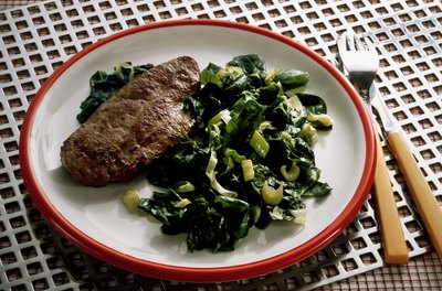 Calf liver supplies a large dose of vitamin A.