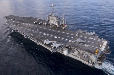 New Navy intelligence officers are frequently sent to aircraft carriers.