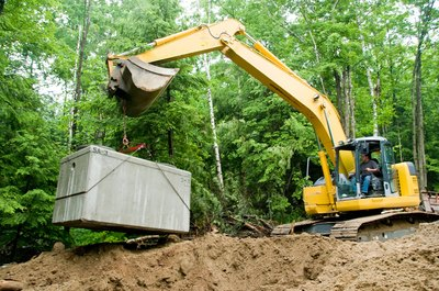 Most septic systems feature a septic tank.