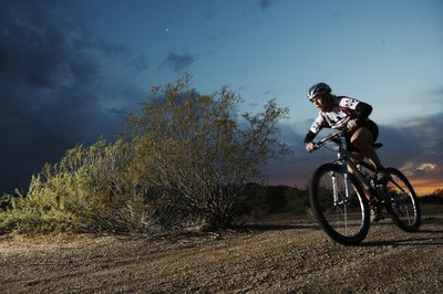 Mountain bikes are built to support the exploration of diverse terrain.