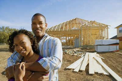 An escrow account will distribute funds as you build a home.
